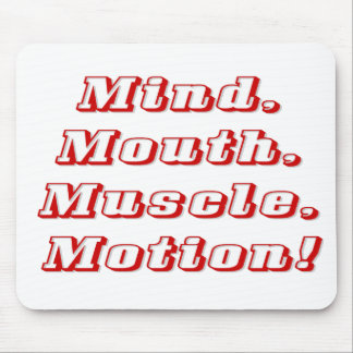 Mind over Matter Mouse Pad