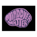 Mind Over Matter Postcard with purple logo