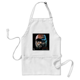 MIND OVER MONEY FACE ADULT APRON