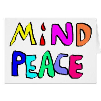 mind peace #2 card