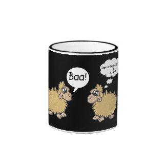 Mind Reader Ringer Coffee Mug