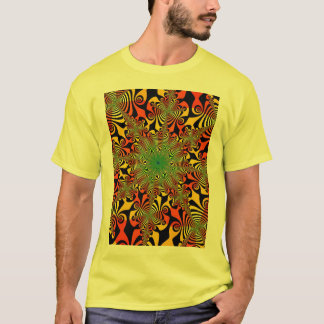 Mind Spinner in Red and Yellow T-Shirt