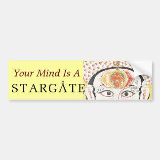 mind stargate bumper sticker