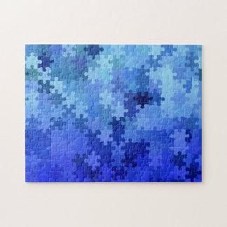 Mind Teaser Puzzle of a Puzzle / Blue