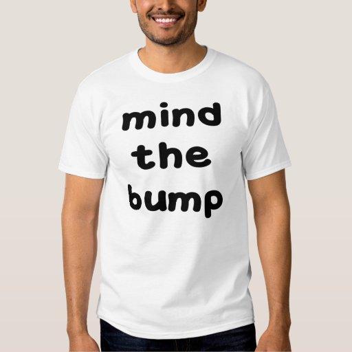 MIND THE BUMP FUNNY MATERNITY SHIRT