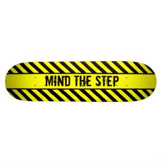 MIND THE STEP SKATEBOARD DECK