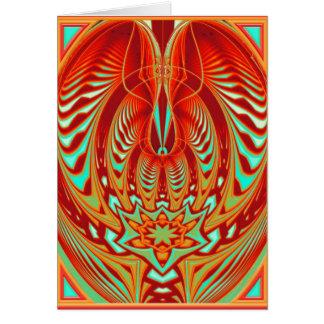 mind trance greeting card