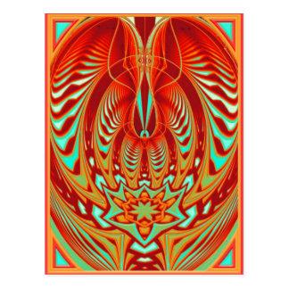 mind trance postcard