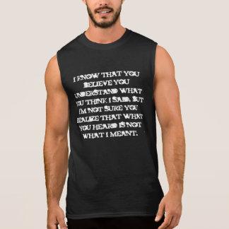 Mind warp quote shirt