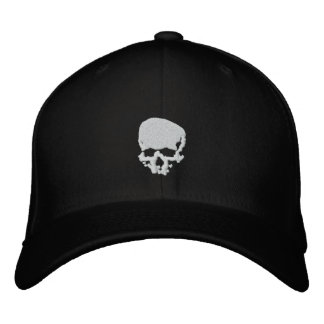Mind Wither Day signature skull Embroidered Baseball Cap
