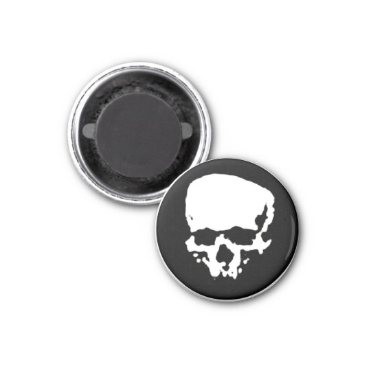 Mind Wither Day signature skull Magnet