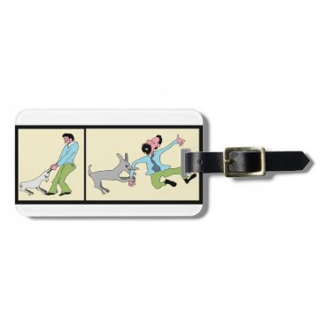 Professional Business Mind Your Business-Dog Reaction To Treatment Luggage Tag