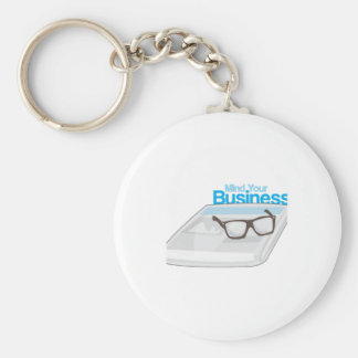 Mind Your Business Keychain