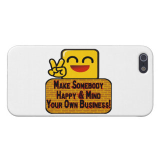 Mind Your Own Business Covers For iPhone 5
