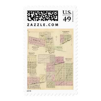 Minden, Nebraska Postage Stamp