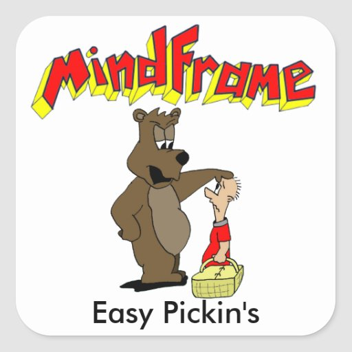 "Mindframe ""Easy Pickin's"" stickers"
