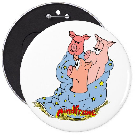 "Mindframe ""Pigs in the Blanket"" Colossal Button"