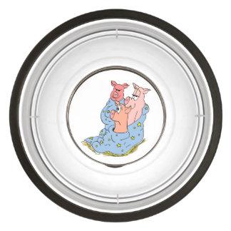 "Mindframe ""Three Little Piggies"" Large Pet Bowl"