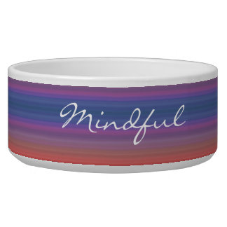 Mindful - Choose your own WORD for the year! Bowl