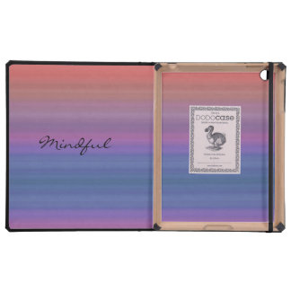 Mindful - Choose your own WORD for the year! iPad Folio Case