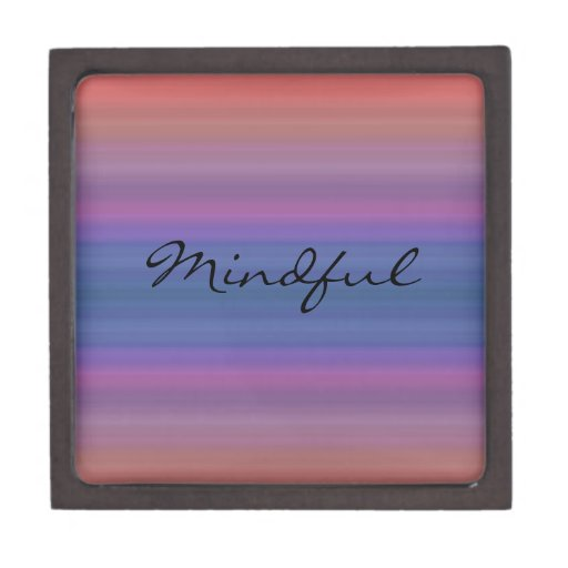Mindful - Choose your own WORD for the year! Premium Gift Box