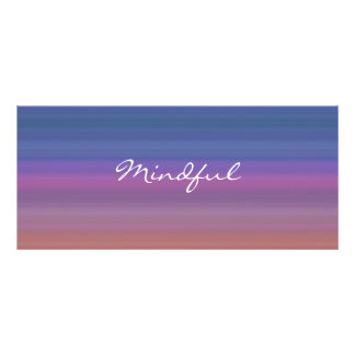 Mindful - Choose your own WORD for the year! Rack Card