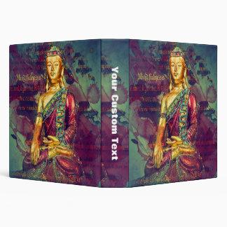Mindfulness Buddha Binder