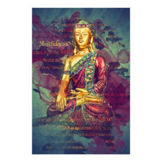 Mindfulness Buddha Photo Print