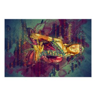 Mindfulness Buddha Poster