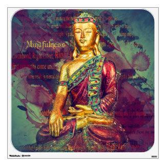 Mindfulness Buddha Wall Decal
