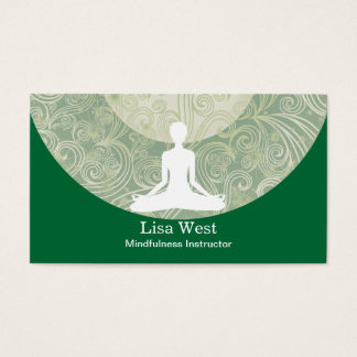 Mindfulness Business Cards