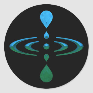 Mindfulness Classic Round Sticker