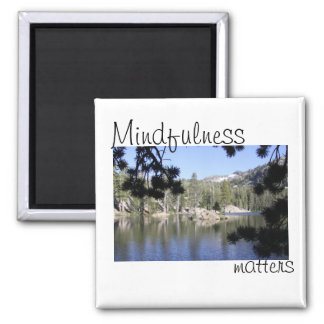 Mindfulness Matters 2 Inch Square Magnet