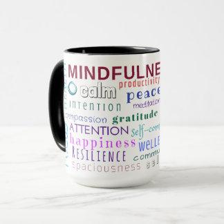 Mindfulness Word Jumble Mug