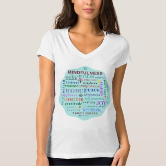 Mindfulness Word Jumble Tshirt