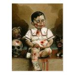 Mindless boy zombie Merch Postcard