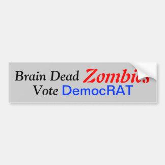 Mindless Fools Love Democrats Bumper Sticker