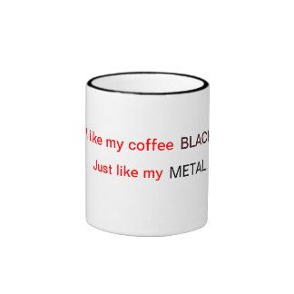 Mindless self indulgence i never wanted to dance ringer coffee mug