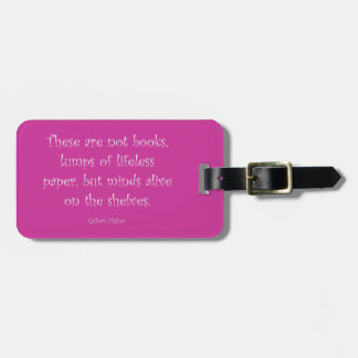 Minds Alive on the Shelves Tags For Bags