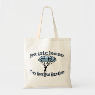 Minds Are Like Parachutes Bag