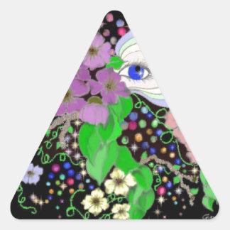 Minds Eye Triangle Sticker