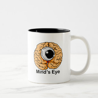 Mind's Eye Two-Tone Coffee Mug