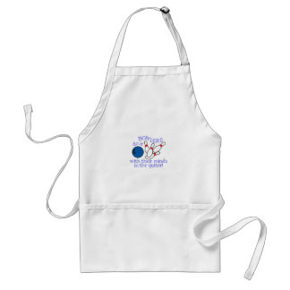 Minds In The Gutter Adult Apron