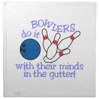 Minds In The Gutter Cloth Napkin
