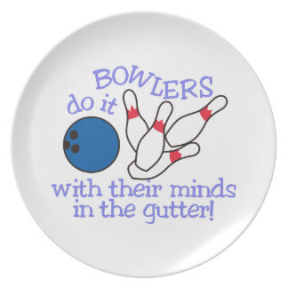 Minds In The Gutter Dinner Plate