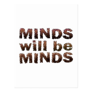 MINDS will be MINDS - Multiple Products Postcard