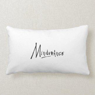 Mindurance Throw Pillow