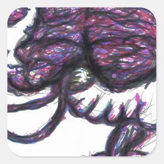 Mindweapon Rewrite Mindwipe Square Sticker