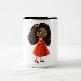 Mindy cute black girl Mug