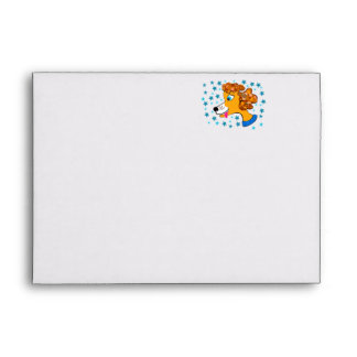 Mindy the Miniature Poodle Envelope